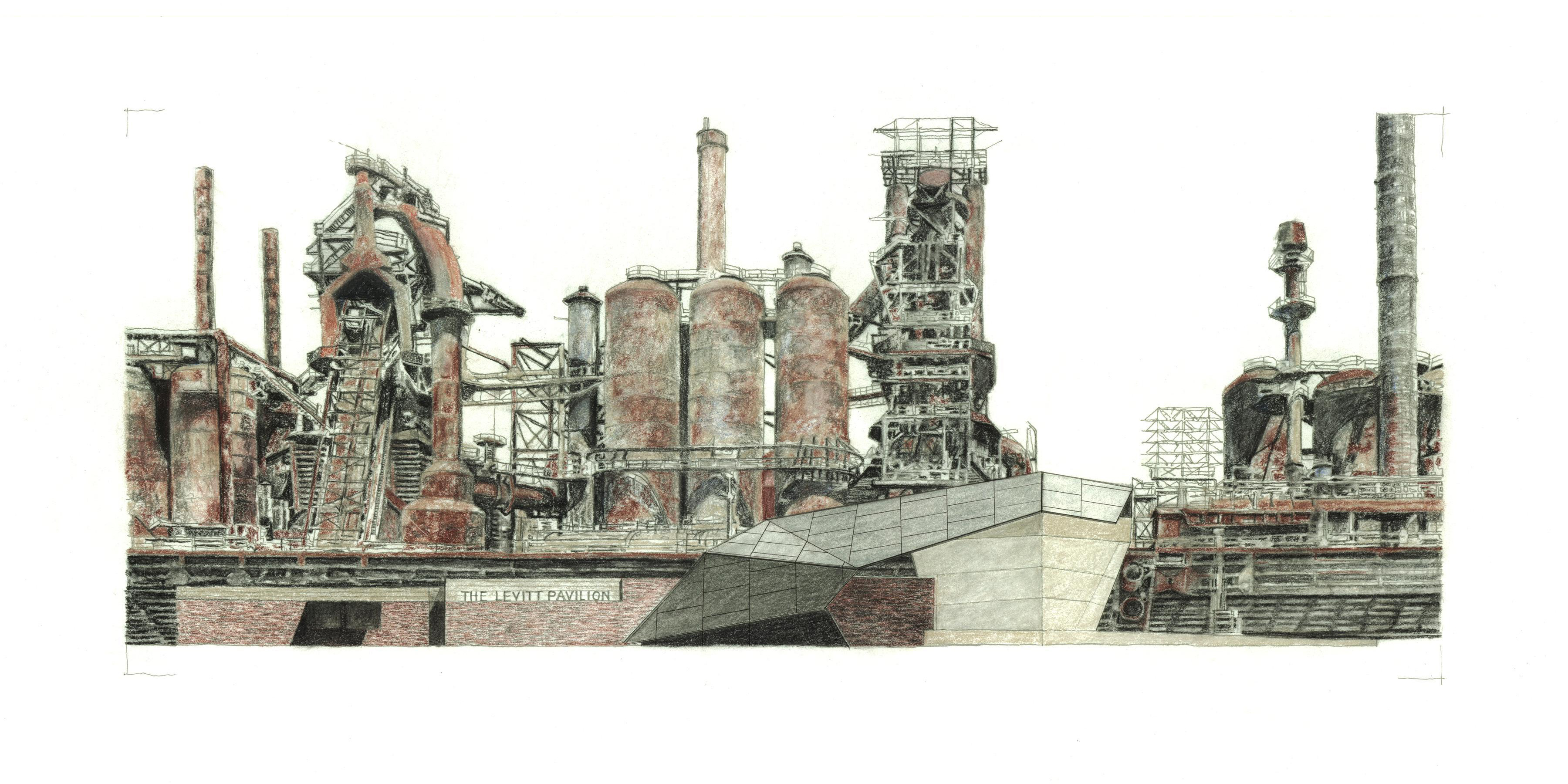 Faculty member Tobiah Horton was part of the WRT team that designed the  SteelStacks Arts + Cultural Campus. Toby was the lead writer and  illustrator of ...